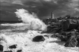 Côte de Granite Rose: Sturm