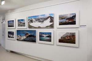 Chamanna Jenatsch in der Galerie d'Esch