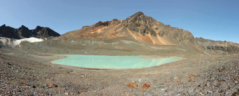Panorama Gletschersee Vadret Agnel
